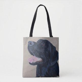 Tote Bag Labrador noir