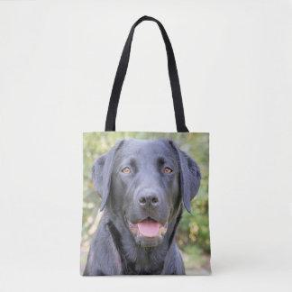 Tote Bag Labrador noir Fourre-tout