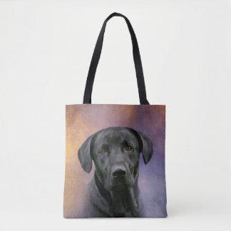 Tote Bag Labrador retriever noir