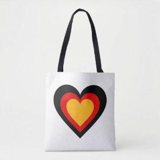 Tote Bag L'Allemand/coeur de l'Allemagne drapeau-a inspiré