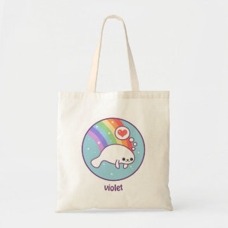 Tote Bag Lamantin de Kawaii