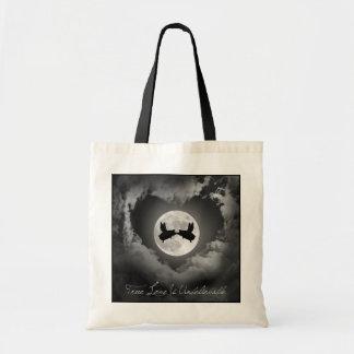 Tote Bag L'amour vrai est des baisers de porcs