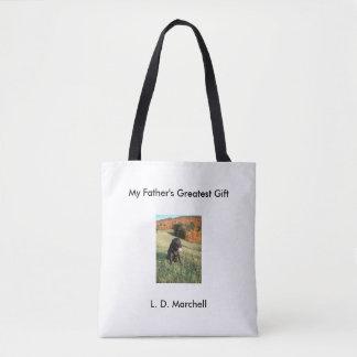Tote Bag L'anglais noir labrador retriever de chien de