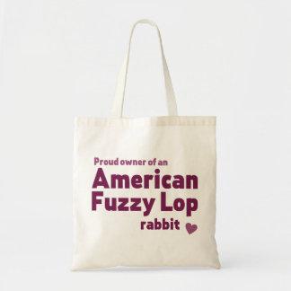 Tote Bag Lapin brouillé américain de Lop