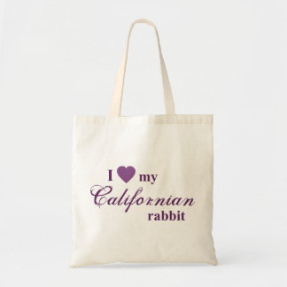 Tote Bag Lapin californien