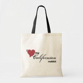 Tote Bag Lapin californien