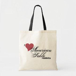 Tote Bag Lapins américains de sable