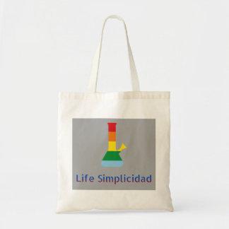 Tote Bag L'arc-en-ciel de Simplicidad de la vie Bong et