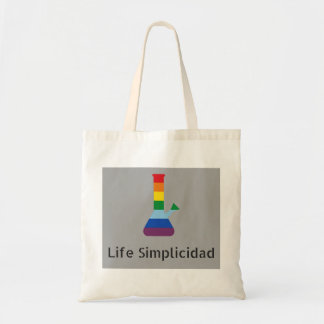 Tote Bag L'arc-en-ciel de Simplicidad de la vie Bong le