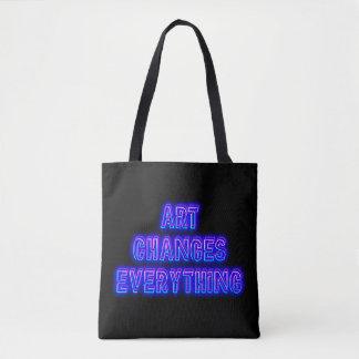 Tote Bag L'art change tout