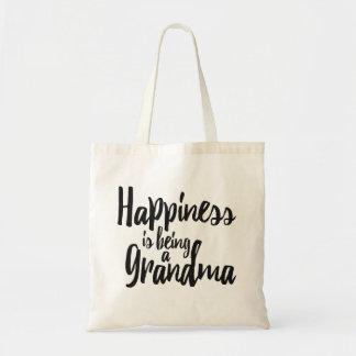 Tote Bag Le bonheur est une grand-maman