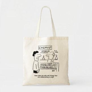Tote Bag Le chimiste vend seulement les produits
