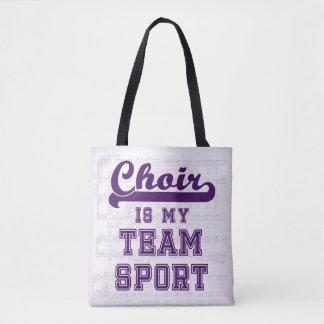 Tote Bag Le choeur est mon sport collectif