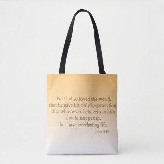 Tote Bag Le chrétien deux modifient la tonalité tous plus