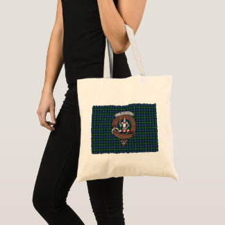 Tote Bag Le clan de Bannerman Badge le tartan Fourre-tout
