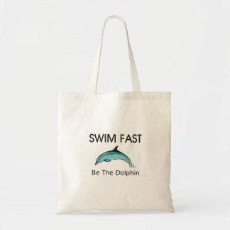 Tote Bag Le dauphin SUPÉRIEUR de bain jeûnent