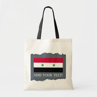 Tote Bag Le drapeau de la Syrie