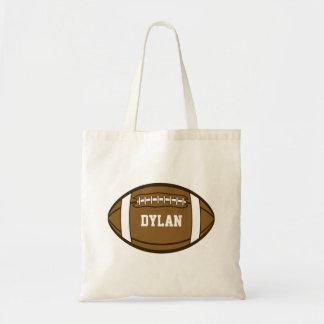 Tote Bag Le football personnalisé pour les garçons qui