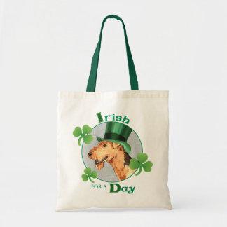Tote Bag Le jour Airedale de St Patrick