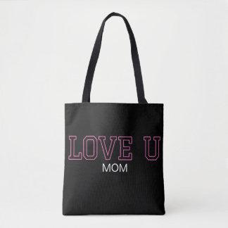 Tote Bag Le jour de mère de l'AMOUR U - diplômé - tout