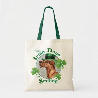 Tote Bag Le jour Terrier irlandais de St Patrick