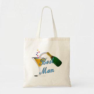 Tote Bag Le meilleur bleu de pain grillé d'homme