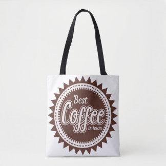 TOTE BAG LE MEILLEUR CAFÉ EN VILLE
