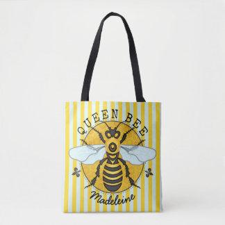 Tote Bag Le miel de reine des abeilles de bourdon d'abeille