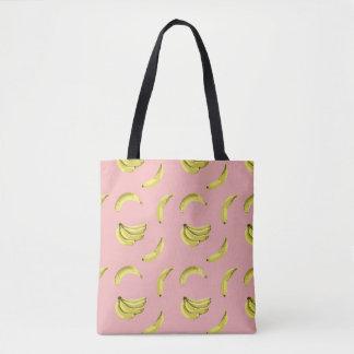 Tote Bag Le motif sans couture de vecteur doux de banane