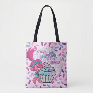 Tote Bag Le pavot des trolls | arrosent votre petit gâteau
