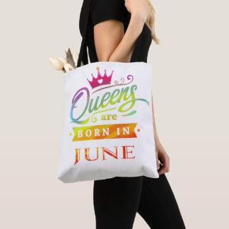Tote Bag Le Queens sont en juin cadeau d'anniversaire né