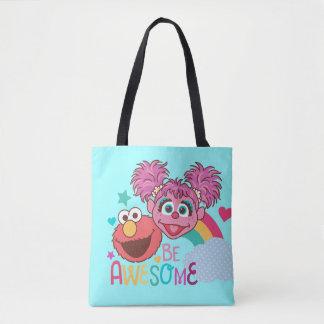 Tote Bag Le Sesame Street | Elmo et Abby - soyez
