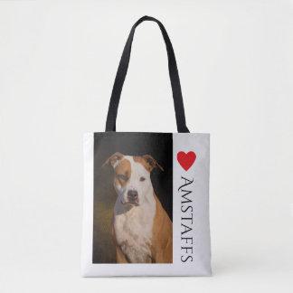 Tote Bag Le Staffordshire Terrier américain Fourre-tout