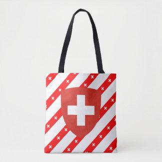 Tote Bag Le Suisse barre le drapeau