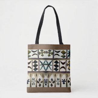 Tote Bag Le tribal polynésien a inspiré des emballages de
