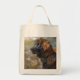 Tote Bag Leonberger humide