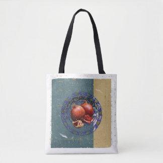 Tote Bag Les beaux-arts de la grenade dans le plat antique