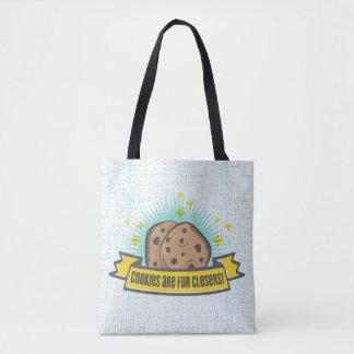 Tote Bag Les biscuits du bébé | de patron sont pour Closers