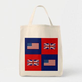 Tote Bag Les Etats-Unis diminuent et motif BRITANNIQUE de