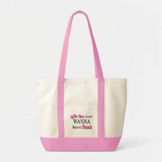 Tote Bag Les filles veulent juste avoir l'amusement 2