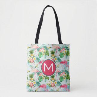 Tote Bag Les fleurs et les oiseaux tropicaux | ajoutent