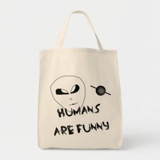 Tote Bag Les humains sont drôles