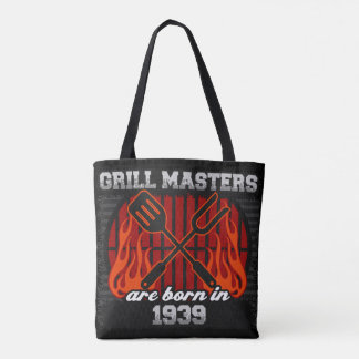 Tote Bag Les maîtres de gril sont nés en l'année 1939