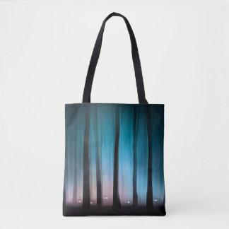 Tote Bag Les monstres éffrayants de forêt tout plus de -