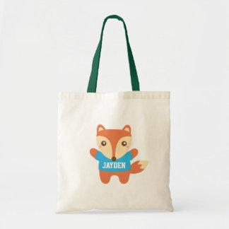Tote Bag Les petits enfants mignons de Fox ont personnalisé