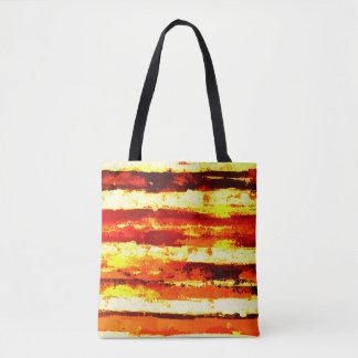 Tote Bag Les rues de l'artiste d'or ont conçu Fourre-tout