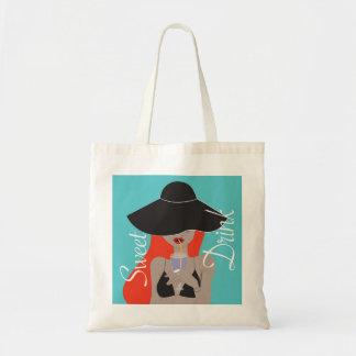 Tote Bag L'eté sous mon chapeau -Boissons Fraiches