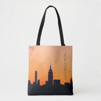 Tote Bag Lever de soleil de New York City