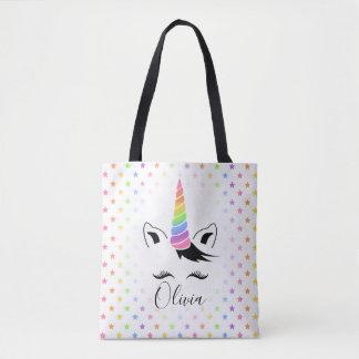 Tote Bag Licorne assez en pastel