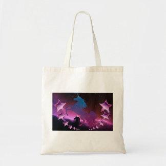 Tote Bag Licorne avec des étoiles